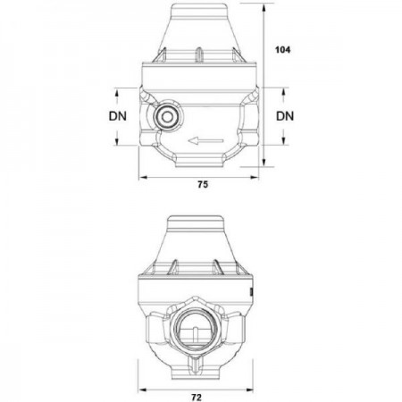 Réducteur de pression Isobar, F x F