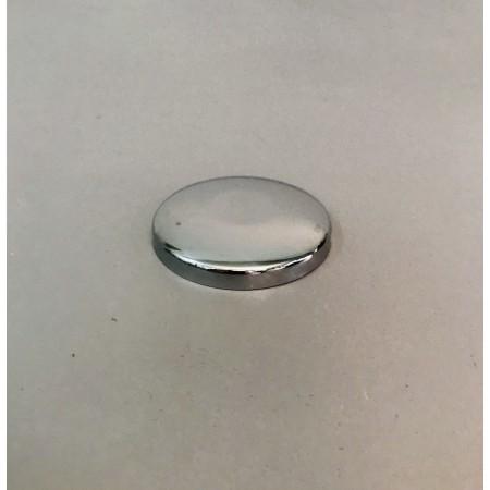 Rosace pleine Ø 61 mm. chromée