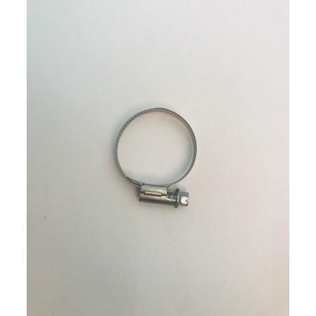 Collier de serrage largeur 9 mm, Inox