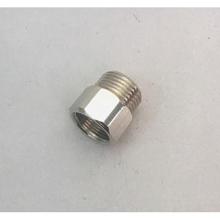 Adapter für Brauseschlauch für Spültischmischer M15 x 3/8 IGxAG