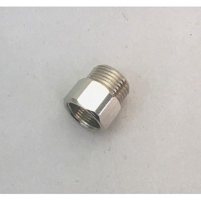 """Adaptateur / réduction de tuyau flexible pour douchette d\'évier M15 x 3/8\"""" F x M"""